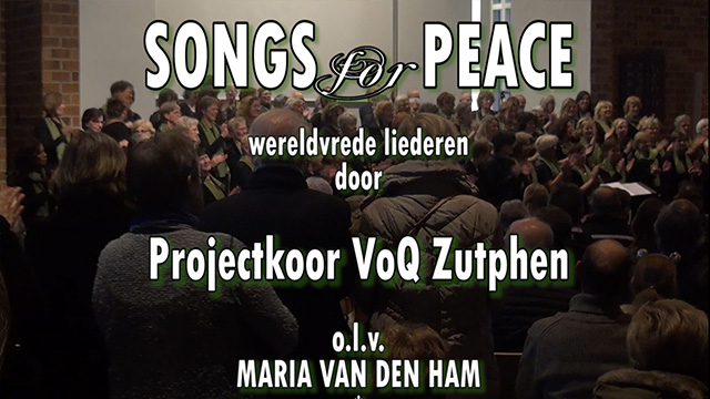IMPRESSIES SONGS for PEACE in EEFDE